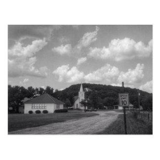 Immanuel lutherische Kirche - Copperas Bucht, TX Postkarte