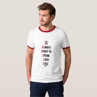 Immer bereiter Friseur-T - Shirt