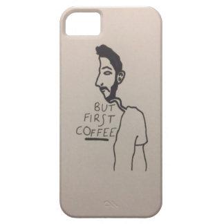 Immer, denkend an Kaffee iPhone 5 Hülle
