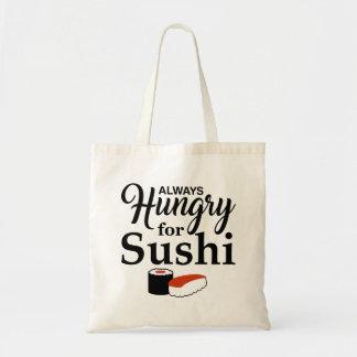 Immer hungrig für Sushi Tragetasche