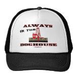 Immer im Doghouse, Ölfeld-Hut Baseball Caps