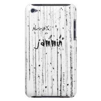 Immer jammin Schmutz/Rockipod-Kasten Barely There iPod Hüllen