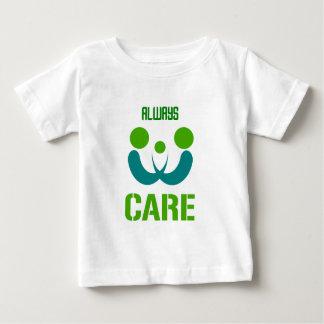 immer Sorgfalt Baby T-shirt