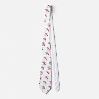 Immer vorbereitet personalisierte krawatte