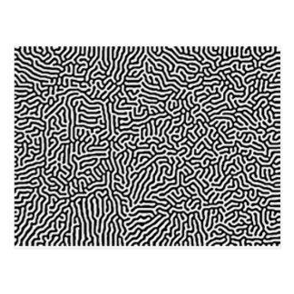 Immer währendes Labyrinth Postkarte