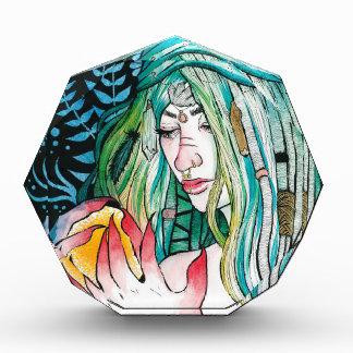 Immergrün - Aquarell-Porträt Auszeichnung