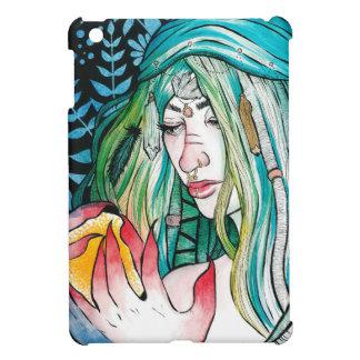 Immergrün - Aquarell-Porträt iPad Mini Hülle