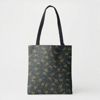 immergrüne Eichellandwinter-Taschentasche Tasche