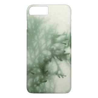Immergrüne Nahaufnahme mit Beschaffenheit iPhone 8 Plus/7 Plus Hülle