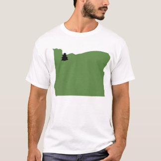 Immergrünes Liebe-T-Stück Portlands, Oregon T-Shirt
