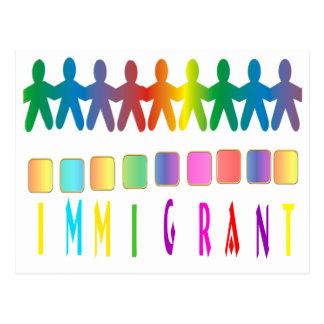Immigrant Postkarte