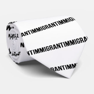 Immigrant - US USA Amerika widerstehen Krawatte