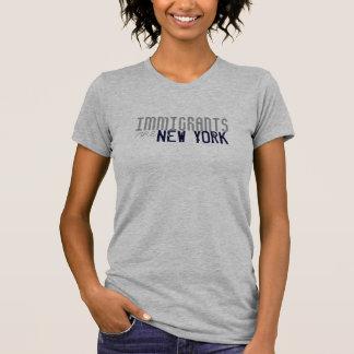Immigranten sind kundengerechtes T-Stück New York T-Shirt