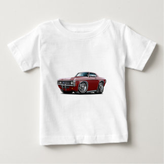 Impala-kastanienbraunes Auto 1969 Baby T-shirt