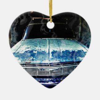 Impala Keramik Herz-Ornament