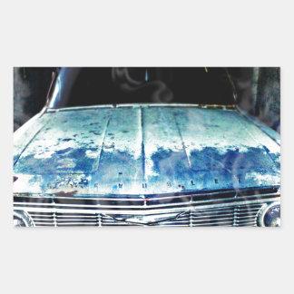 Impala Rechteckiger Aufkleber