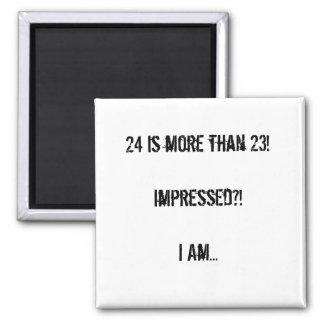 Impressed?! Quadratischer Magnet