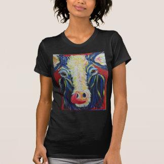Impressionismus-Post-Impressionismus-Kuh-Vieh T-Shirt