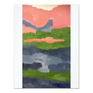 Impressionistische Karte
