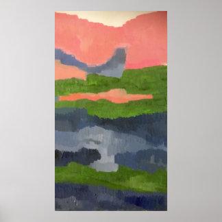 Impressionistische Kunst Poster
