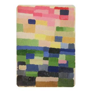 Impressionistische Kunstkarte Karte