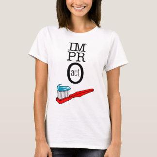 Impro TAT - Zahnbürste T-Shirt