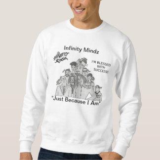 """iMz """"ich bin gesegneter w Erfolgs-"""" Anzeige Sweatshirt"""