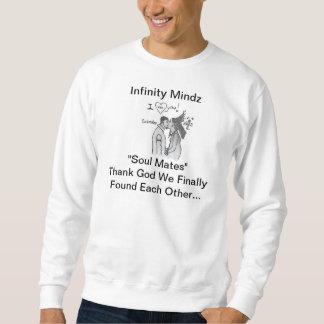 """iMz """"Soul verbindet"""" Anzeige Sweatshirt"""
