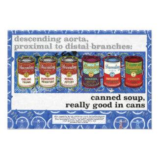 in Büchsen konservierte Suppe, wirklich gut in den Fotodruck