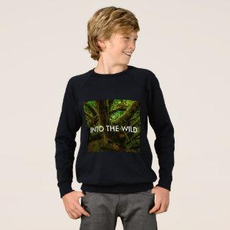 In das wilde Jungen-magische WaldSweatshirt Sweatshirt