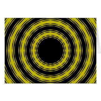 In den Kreisen (gelbe Version) Karte