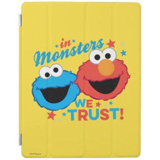 In den Monstern vertrauen wir! iPad Hülle