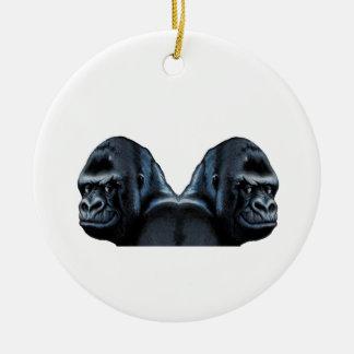 In den Nebel Keramik Ornament