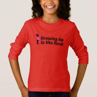 """In der Aphros Mädchen-""""wachsend oben Haube """" IE T-Shirt"""