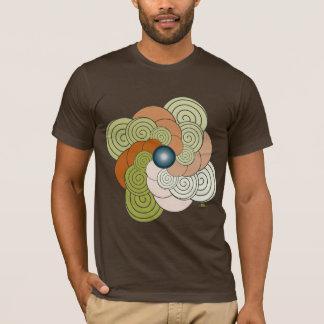 In der grünen Spirale Dachziegel. Men t-shirt
