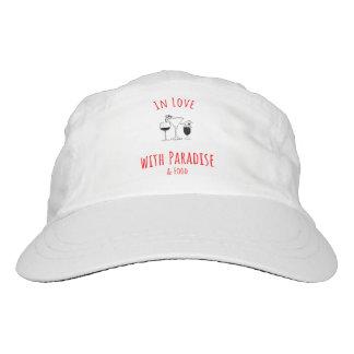 In der Liebe mit Paradies-Hut Headsweats Kappe