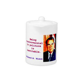 In der Politik umstritten sein - Richard Nixon .jp