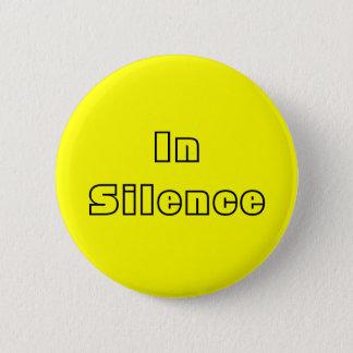 In der Ruhe--Gelb/Schwarzes Runder Button 5,7 Cm