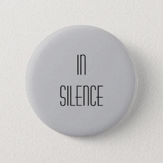 In der Ruhe--Graues modernes Runder Button 5,1 Cm