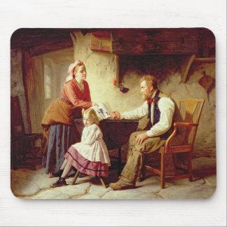 In der Schande 1875 (Öl auf Leinwand) Mauspad