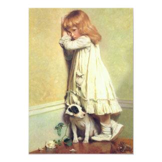 In der Schande durch Friseur Charless Burton 12,7 X 17,8 Cm Einladungskarte