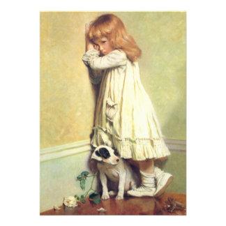 In der Schande durch Friseur Charless Burton Personalisierte Einladungskarte