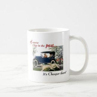 in der Vergangenheit leben 1924 1925 Kaffeetasse