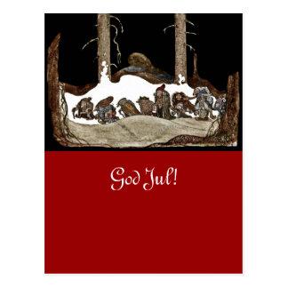 In die Heilige Nacht - Postkarte