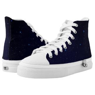 In die Tiefen der Raum-Schuhe Hoch-geschnittene Sneaker