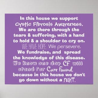 In diesem Haus - Fibrose-Plakat Poster