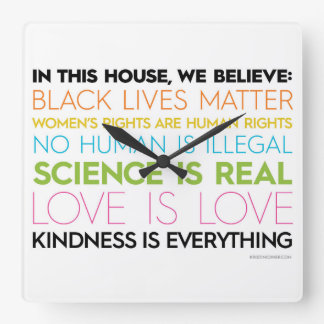 In dieser Haus-Uhr Quadratische Wanduhr