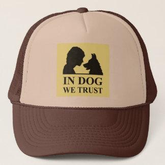 in dog we trust truckerkappe