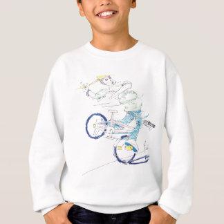 In einer Drehbeschleunigung (Farbe) Sweatshirt