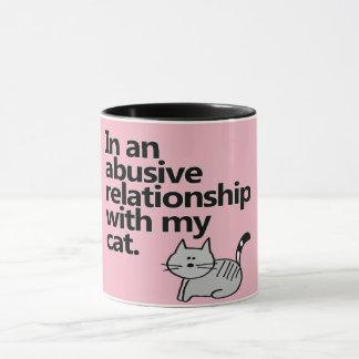 In einer missbrauchenden Beziehung mit meiner Tasse